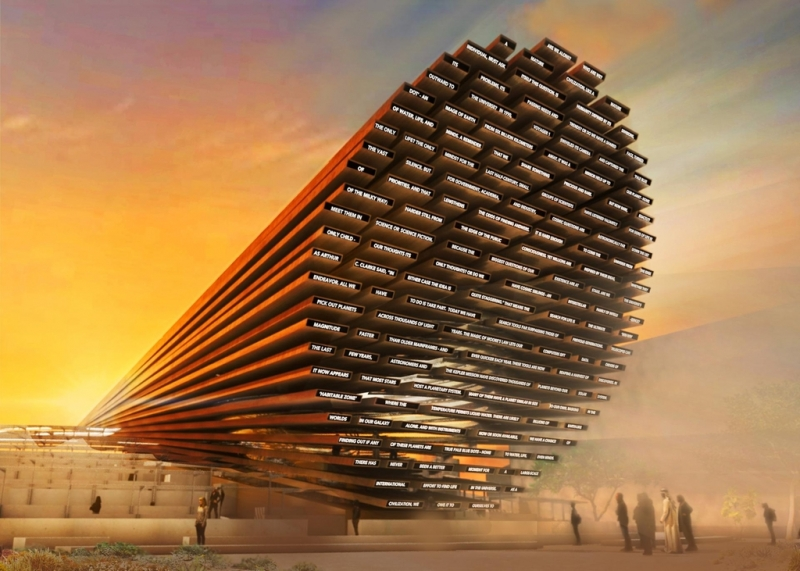 Design for UK pavilion at Expo 2020 Dubai revealed