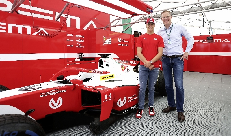 SSI Schaefer Welcomes Formula 2 Driver Mick Schumacher as Brand Ambassador